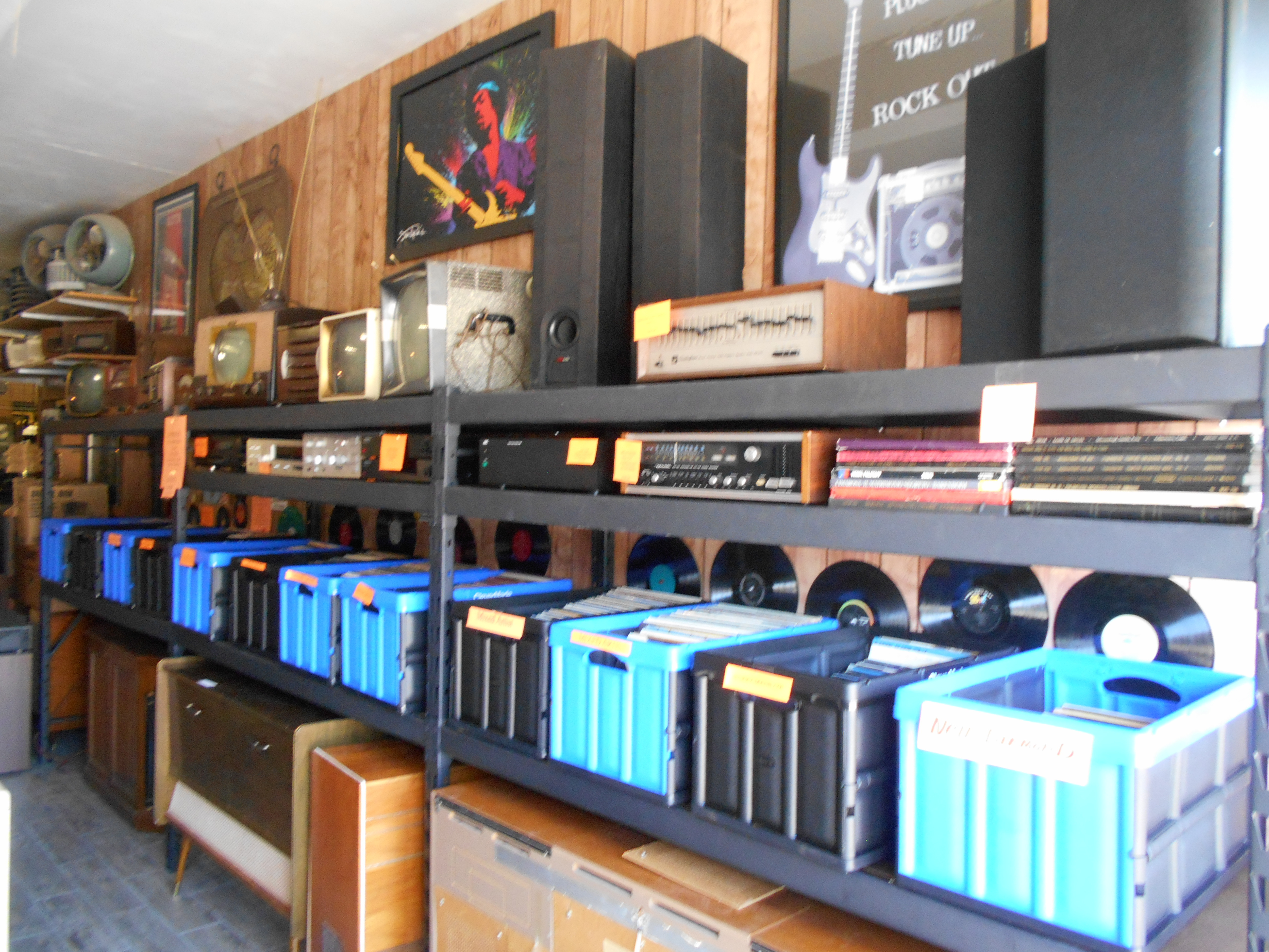 Vintage audio museum there
